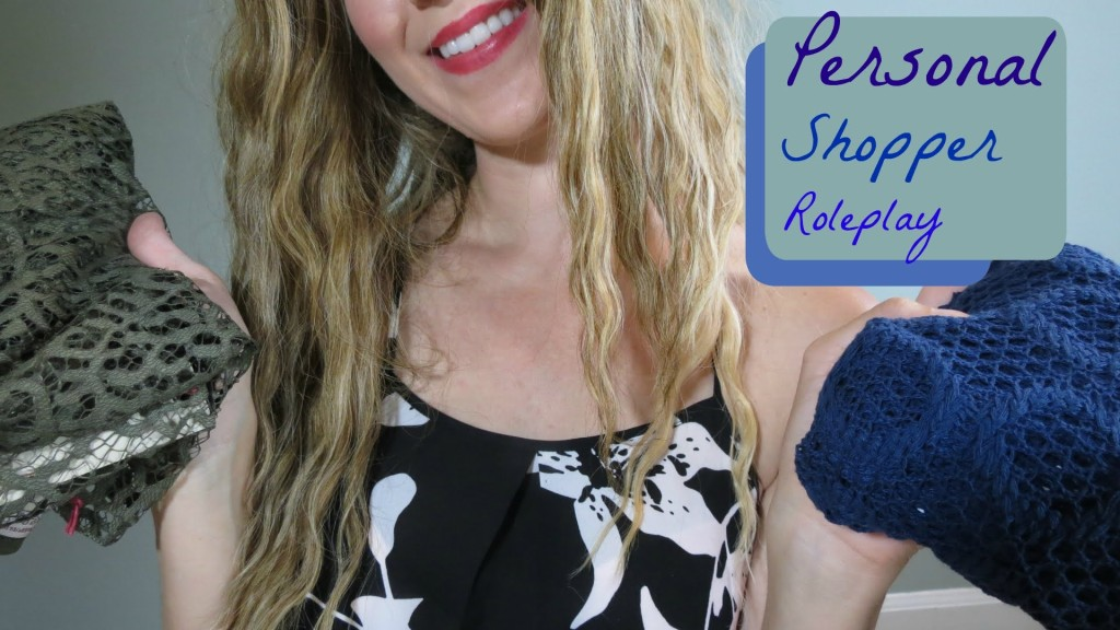 ASMR Personal Shopper Store Role play (binaural whispering and crinkles )