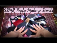 ASMR 💄 Tingly Makeup Sounds 💄  (Nail Tapping, Crinkly Sounds, Soft Spoken)