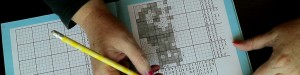 ASMR Pixel Puzzle | Colouring In Pencil on Paper (silent, no talking)