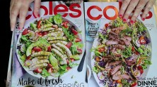 Flipping through magazines and tearing out recipes | ASMR silent, no talking