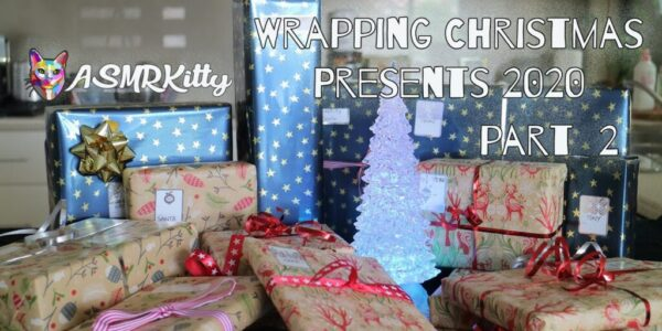 Wrapping Christmas Presents 2020 ASMR – Part Two (no talking)