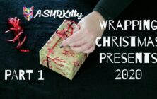 Wrapping Christmas Presents 2020 ASMR – Part One (no talking)